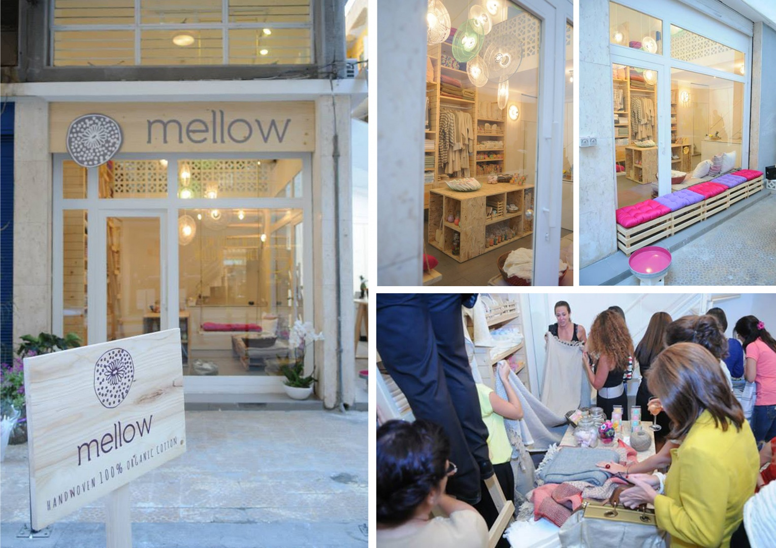 MELLOW . ORGANIC BOUTIQUE . OPENING EVENT